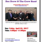 Doc Drew & the Crew at Original Mikes: 4-28-17